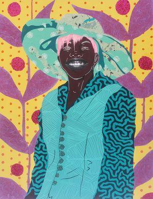 Mudda Pat by Cynde Jasmin Coleby contemporary artwork
