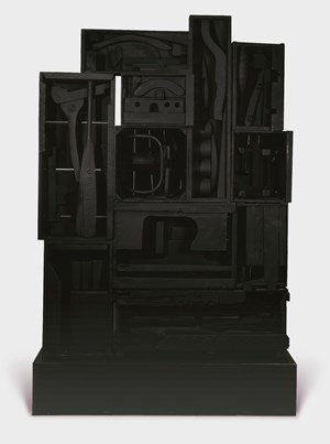 Sky City I by Louise Nevelson contemporary artwork