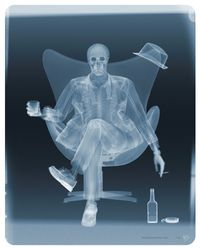 Examination of Rat Pack by Nick Veasey contemporary artwork print