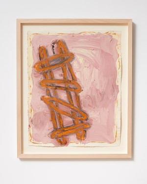 Ladder and Step Series #38 by Basil Beattie contemporary artwork
