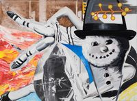 Playing, Dreaming by David Salle contemporary artwork painting