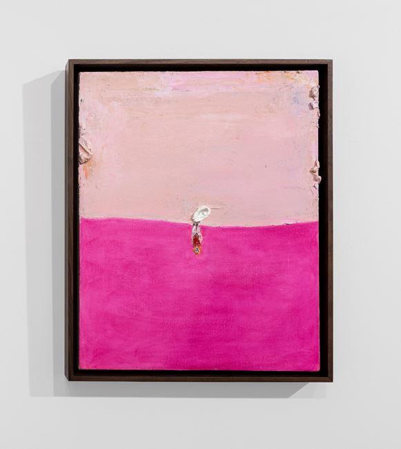Upside Down Pink Death by Lisa Sanditz contemporary artwork