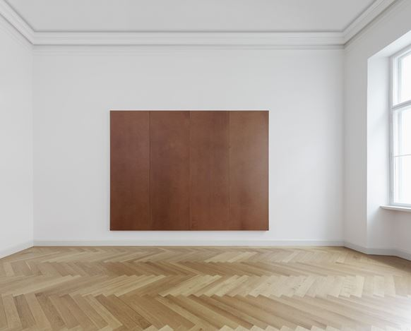 Exhibition view: Imi Knoebel, IMI KNOEBEL. dass die Geschichte zusammenbleibt, KEWENIG, Berlin (13 September–9 November 2019). Courtesy KEWENIG.