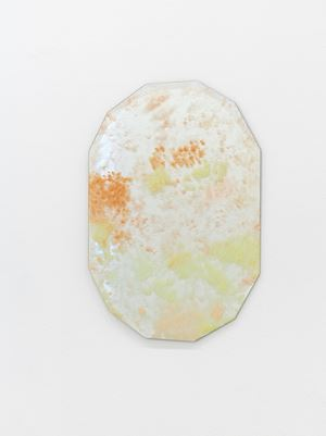Looking Glass Number 5 by Karla Black contemporary artwork