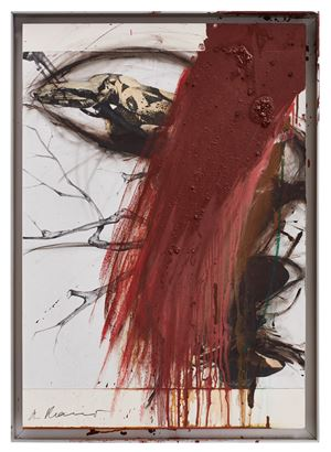 Untitled by Arnulf Rainer contemporary artwork