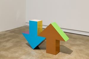 Arrow Sculpture by Tony Tasset contemporary artwork