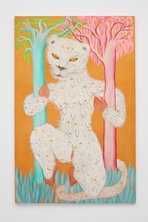 Leoparda de Ojitos by Cecilia Vicuña contemporary artwork