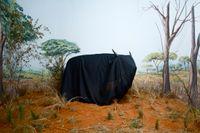In the Days of a Dark Safari by Kiluanji Kia Henda contemporary artwork print