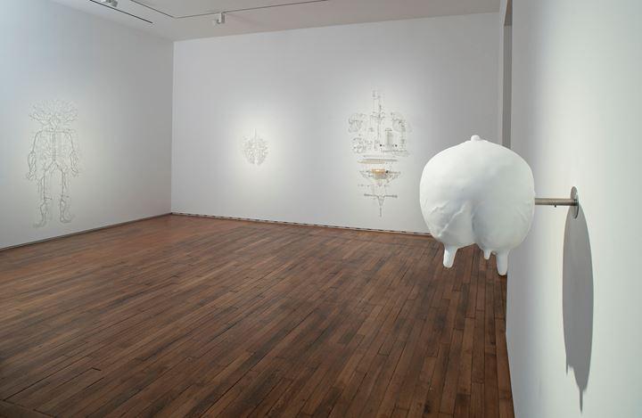 Exhibition view: Prune Nourry, Catharsis, Templon, 28 Grenier Saint-Lazare, Paris (7 September–19 October 2019). © Prune Nourry. Courtesy Templon, Paris-Bruxelles.Photo: Bertrand Huet Tutti.