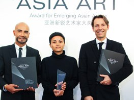 Maria Taniguchi awarded Hugo Boss Asia Art Award 2015