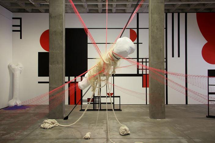Exhibition view: Group Exhibition, Ghost Nets, Galería OMR, Mexico City(24 May–30 June 2018). Courtesy Galería OMR.