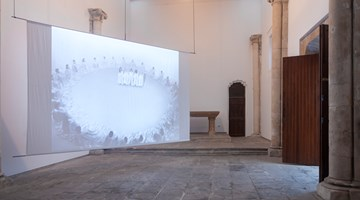 Contemporary art exhibition, James Lee Byars, The World Question Center at KEWENIG, Palma