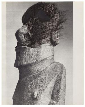 MUSÉE IMAGINAIRE, Plate 440 (back) by Ann-Marie James contemporary artwork