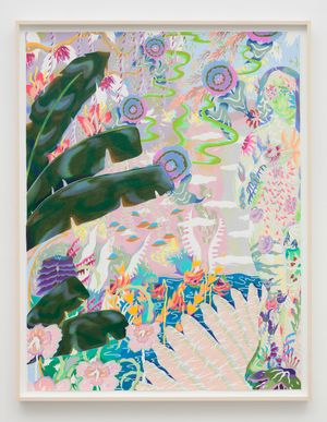 All things always seemed the same 1 by Sarah Ann Weber contemporary artwork