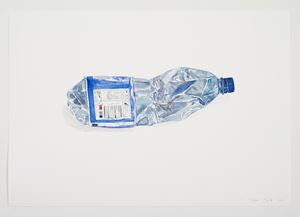 Water Colour Bottle by Gavin Turk contemporary artwork