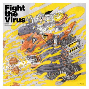 Fight the Virus by Croter Hung contemporary artwork