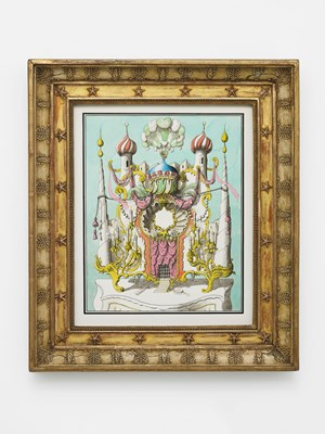 Dressing Mirror in the style of the Turkish Seraglio by Pablo Bronstein contemporary artwork