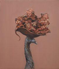 Study for Emu Lounge by Joanna Braithwaite contemporary artwork painting