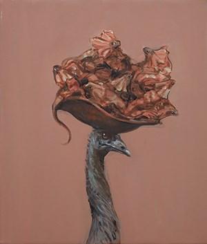 Study for Emu Lounge by Joanna Braithwaite contemporary artwork