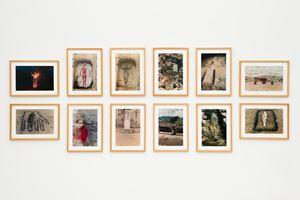 Silueta Works in Mexico by Ana Mendieta contemporary artwork