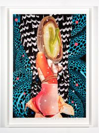 inside another land #39 by Del Kathryn Barton contemporary artwork mixed media