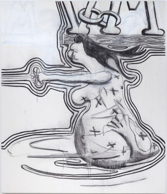 Untitled by Albert Oehlen contemporary artwork