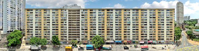 'Wah Fu Estate', The Last Tong Lau, Pok Fu Lam by Stefan Irvine contemporary artwork