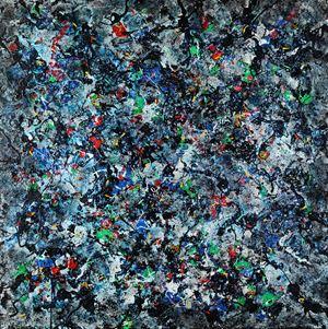 Rayons panachés by Danhôo contemporary artwork
