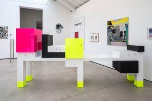 Omaggio 5 by Ettore Sottsass contemporary artwork sculpture
