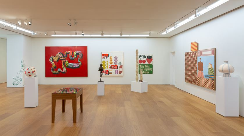Exhibition view: Barry McGee, The Other Side 彼岸, Perrotin, Hong Kong (10 October–9 November 2019). © Barry McGee. Courtesy the artist,Perrotin, and Ratio 3, San Francisco. Photo: Ringo Cheung.