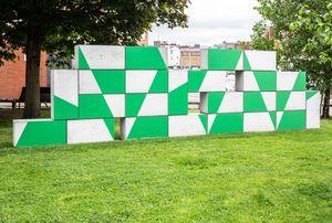 Hazard by Eva Rothschild contemporary artwork