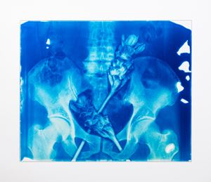 Blood Blue No.9 by Hu Weiyi contemporary artwork