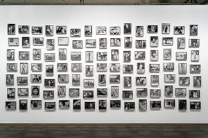 L'album photographique de la famille de B by Christian Boltanski contemporary artwork
