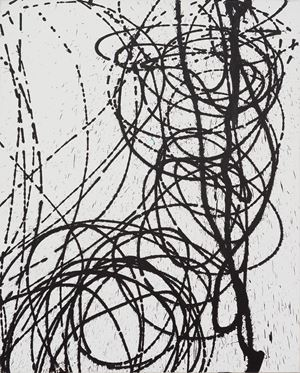 T1989-U45 by Hans Hartung contemporary artwork