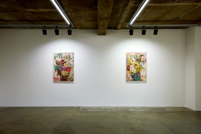 Exhibition view: Daniel Crews-Chubb,FLOWERS, Choi&Lager Gallery, Seoul (20 March–16 May 2021). Courtesy Choi&Lager Gallery.