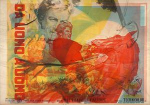 Da uomo a uomo by Mimmo Rotella contemporary artwork