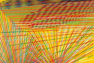 Long Distance II by Piero Dorazio contemporary artwork