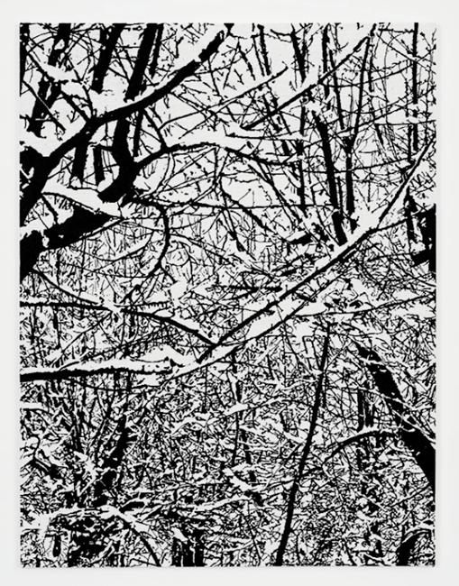 SNOW FOREST 002A by Farhad Moshiri contemporary artwork
