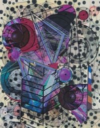 Le Relais Du Postillon, Florence Room 2012 - Untitled #8 by Robert Reed contemporary artwork mixed media