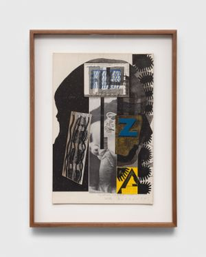 Untitled (William Burroughs' Toothbrush) by Ray Johnson contemporary artwork