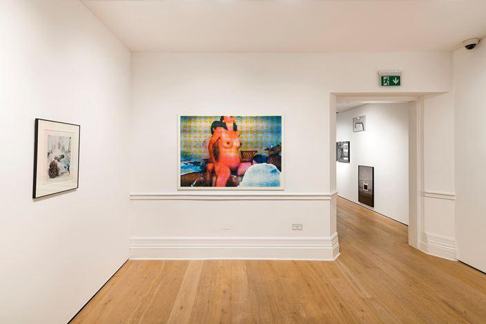Exhibition view: Group Exhibition,Part 1: Matrescence, Richard Saltoun Gallery, London (15 November–21 December 2019). Courtesy Richard Saltoun Gallery.