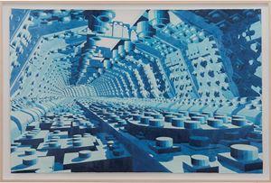 Azul by Dagoberto Rodríguez contemporary artwork