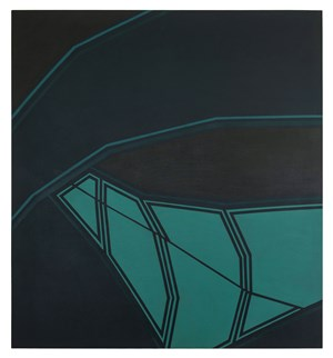 Glimmer by Tess Jaray contemporary artwork