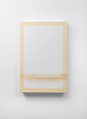 Wet I (White/Cream) by Angela De La Cruz contemporary artwork