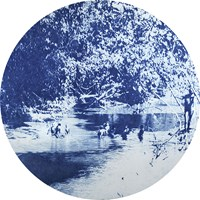 A river of history by Danie Mellor contemporary artwork print