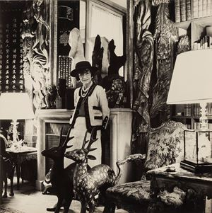 Coco Chanel, Paris by Cecil Beaton contemporary artwork