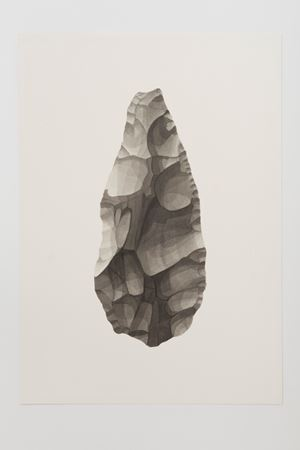 Ungrounded object 1 (Olduvai Axe II) by Frances Richardson contemporary artwork