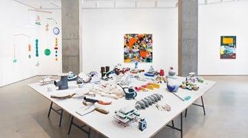 Contemporary art exhibition, Teppei Kaneuji, Plastic Barricade at Jane Lombard Gallery, New York