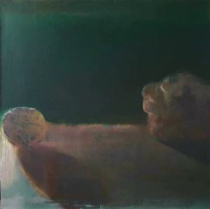 Walnut and Fist by Xie Qi contemporary artwork