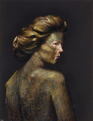 Skins - 01 by Wang Haiyang contemporary artwork